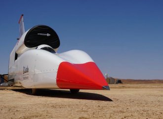 Bloodhound LSR needs to slow down before it runs for the speed record