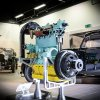 Bentley apprentices bring Engine 212 back to life