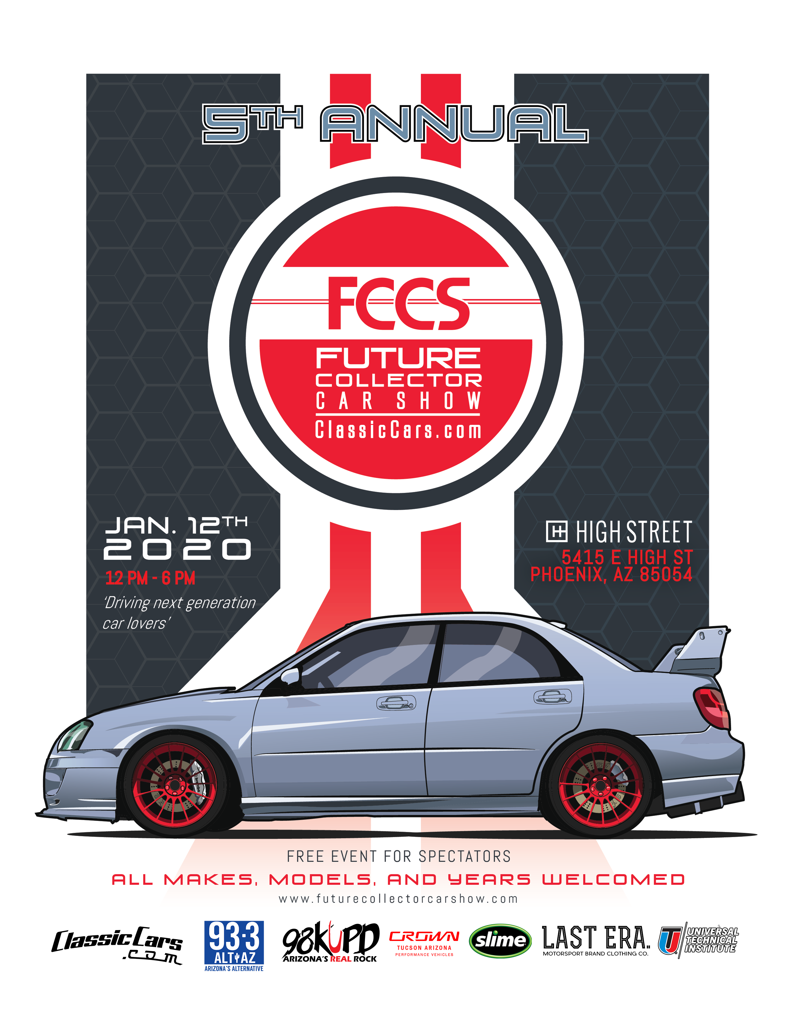Celebrating the 5th anniversary of the Future 'Collector' Car Show with positive changes