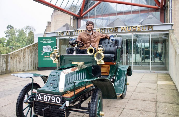 Shifting gears: Beaulieu has 4 cars for London-to-Brighton as it sets 2020 calendar