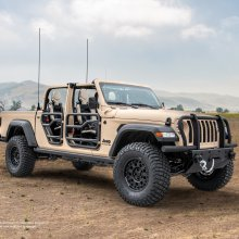Jeep Gladiator XMT concept showcased for military customers