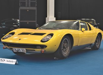 Preserved original Lamborghini Miura tops RM Sotheby's London sale