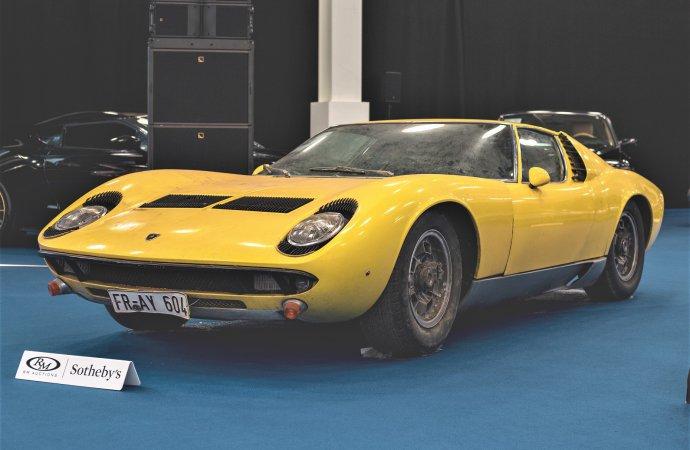 Preserved original Lamborghini Miura tops RM Sotheby's London sale