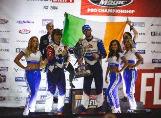 Irish drifter first three-time Pro Champion of Formula Drift