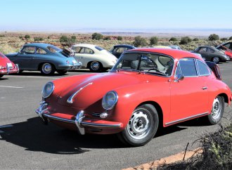 Old-school Porsche 356 sports cars gather for Arizona 'holiday'