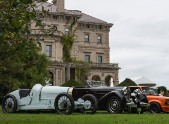Gadsbyian setting greets inaugural Newport concours