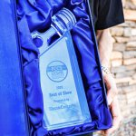 Official trophy of the Future Collector Car Show