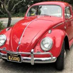 Vw beetle 63 pick andy left front