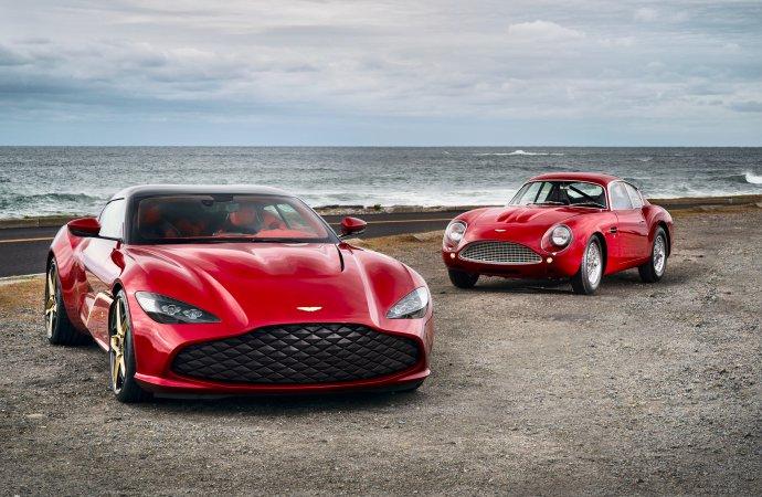 Audrain Concours coup: Aston Martin debuts Centenary car