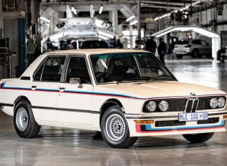 BMW unveils its fully restored 1976 BMW 530 Motorsport Limited Edition