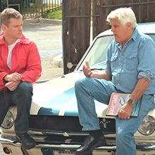 Jay Leno and Matt Damon talk about the film 'Ford v Ferrari'