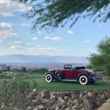 Hey, it's Vegas, so this concours will offer some special treats and twists