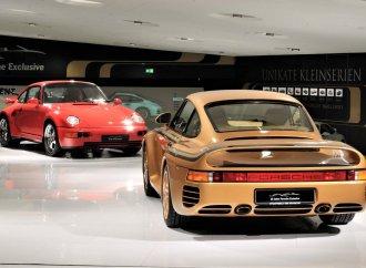 Porsche Museum showcases pair of custom 959s designed for Arab sheik