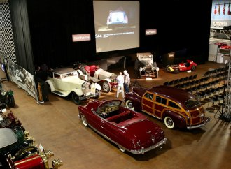 Bonhams' Simeone sale topped by 'barrelback' 1941 Chrysler Town & Country