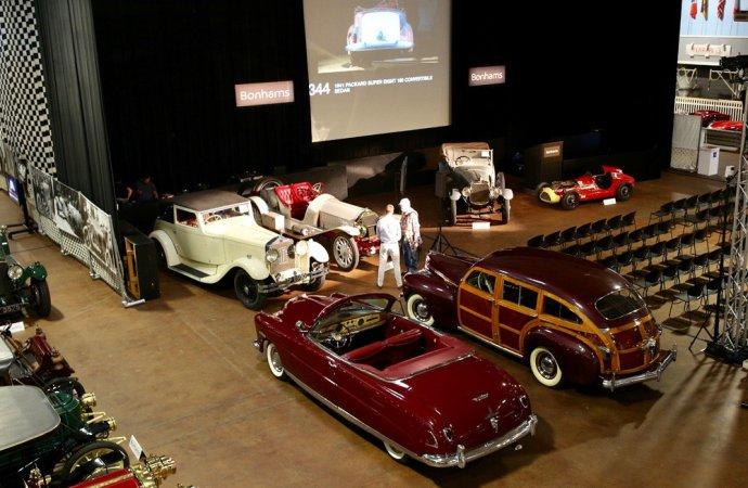 Bonhams' Simeone sale topped by 'barrelback' 1941 Chrysler Town & Country