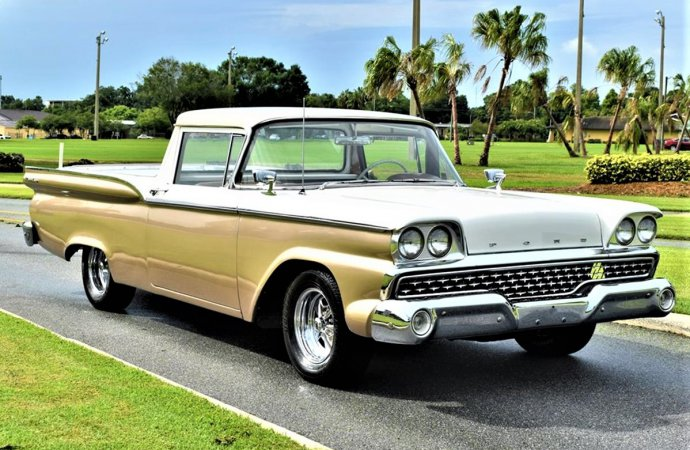 Handsome compromise 1959 Ford Ranchero that's ready to haul