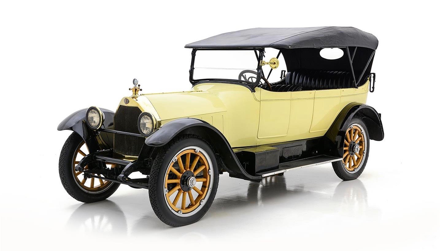 This hybrid-drive car dates to 1917