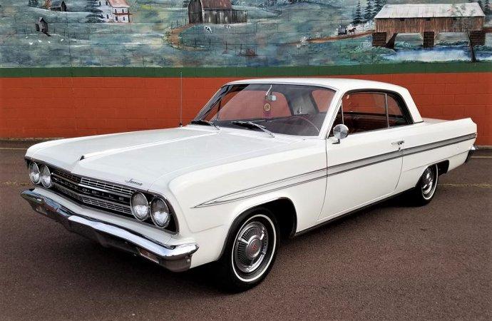 Original turbocharged 1963 Oldsmobile Jetfire hardtop in low-mileage condition