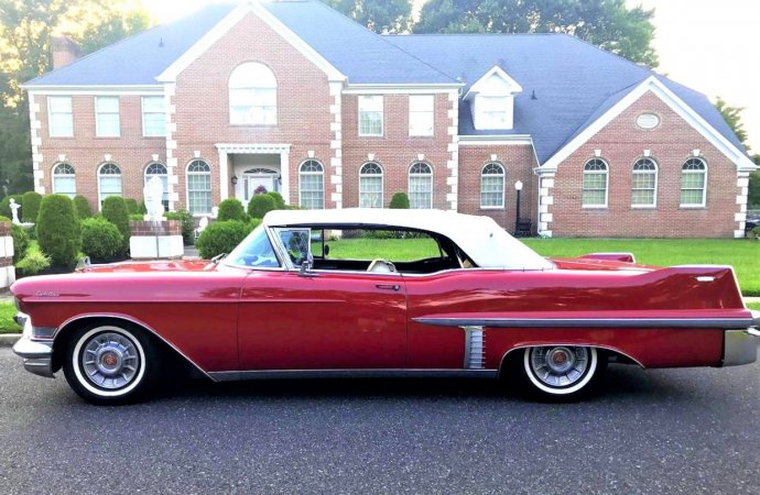 Power and prestige, 1957 Cadillac DeVille convertible well-presented