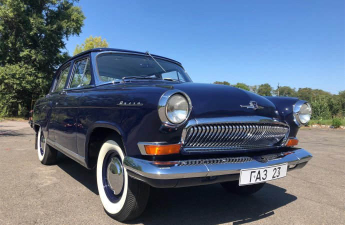 Soviet-era car restored to KGB specification