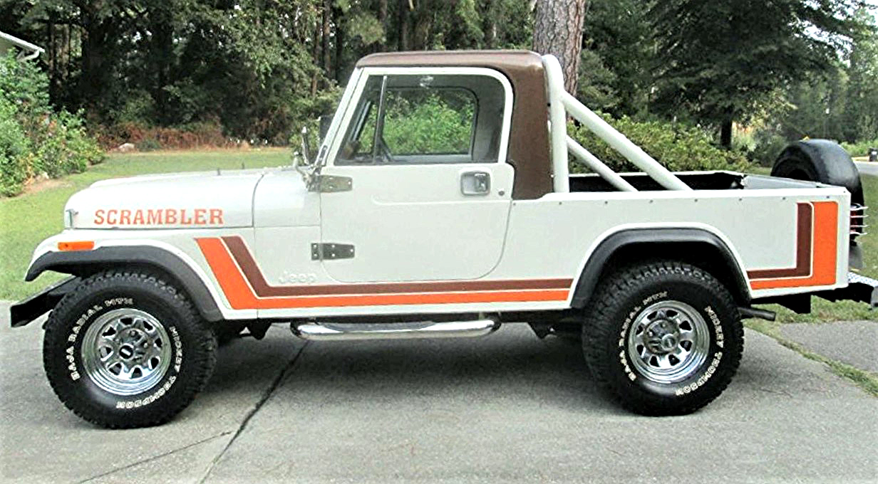 Long Hauler Jeep Scrambler Pickup Is Extended Wheelbase Cj