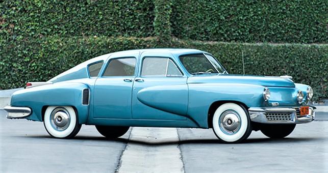 Rare, low-mileage 1948 Tucker 48 headlines Gooding's Scottsdale auction