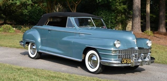 1948 Chrysler Windsor Raleigh Classic Auction