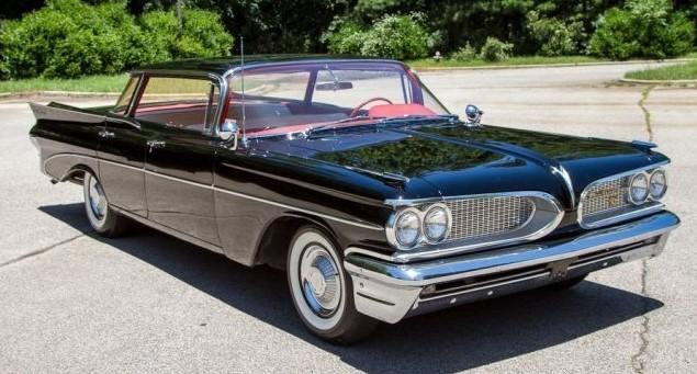 1959 Pontiac Catalina with 20,329 original miles