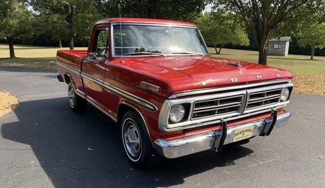 1972 Ford F100 with 78,302 miles