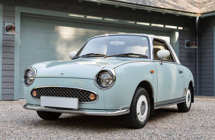 Nissan Figaro next up for Sotheby's online auction