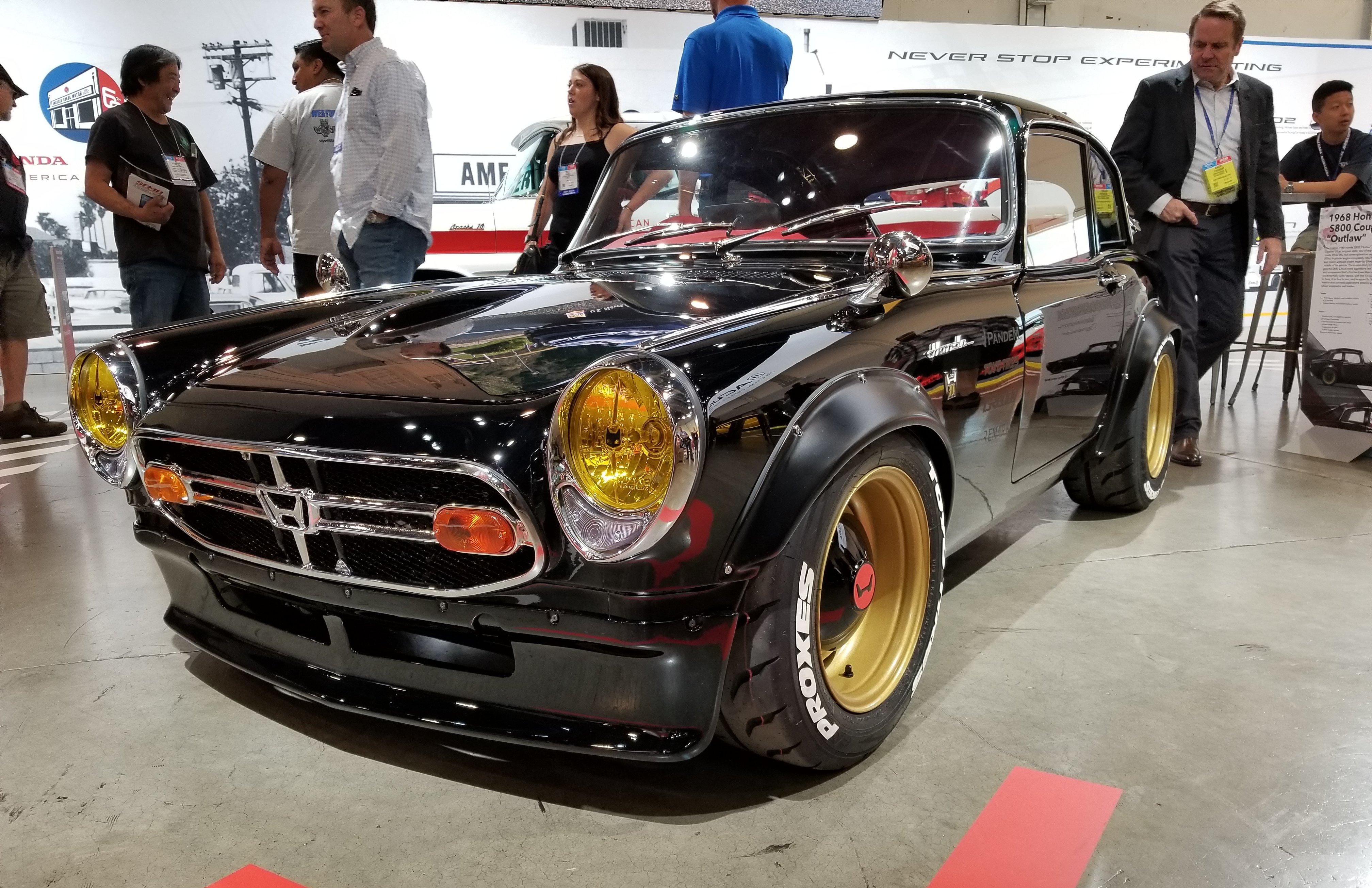 1968 Honda S800 Coupe