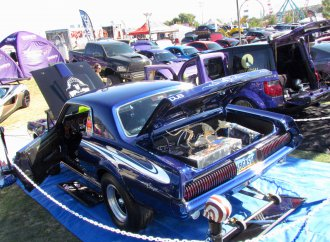 Day of the Dead car show turns into a SEMA preview
