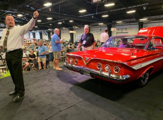 5 collections, 300 cars to be offered at Raleigh Classic Winter Auction