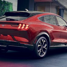 Ford unveils Mustang Mach-E electric sport utility vehicle