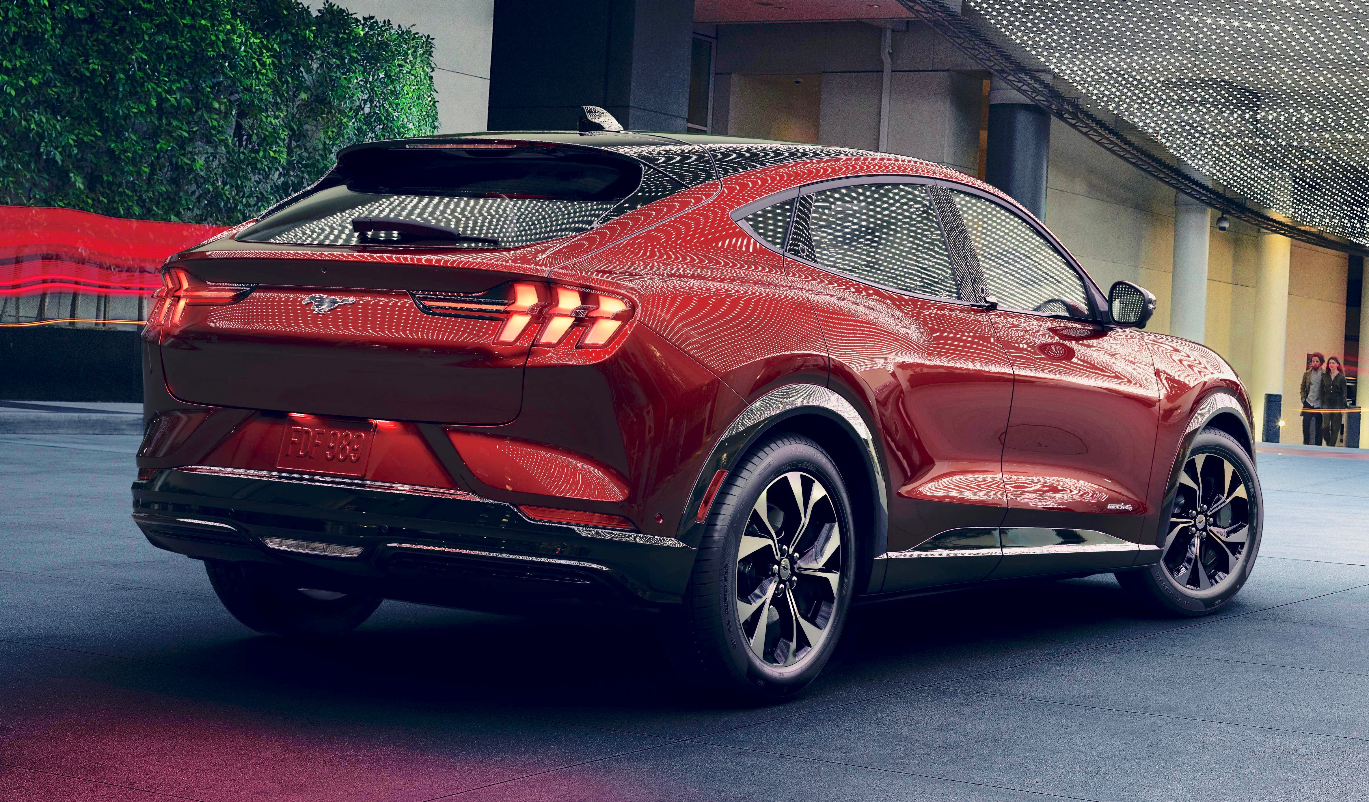 Ford Unveils Mustang Mach E Electric Sport Utility Vehicle