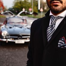300SL Gullwing inspires men's apparel