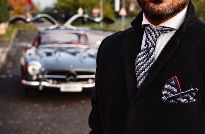 300SL Gullwing inspires men's apparel