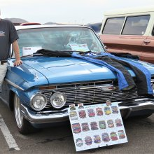 All 18 Goodguys shows in one season, and 40,000 miles in a '61 Chevy Impala