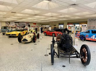 Treasures emerge from the underground vault at Indy museum