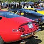 Ferrari Daytonas in a row