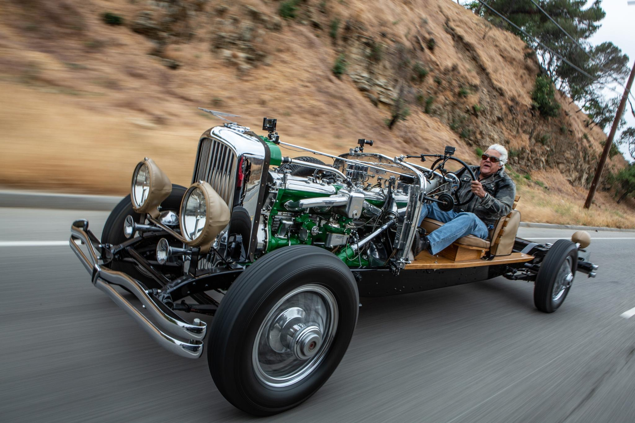 Jay Leno on cars, motorcycles and the next generation