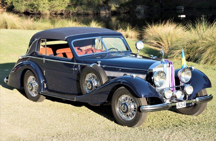 1938 Mercedes Benz 540K wins Best of Show at Hilton Head Concours