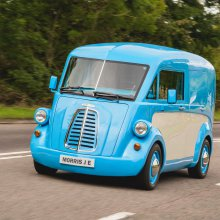 New Morris JE van puts electric spin on iconic design