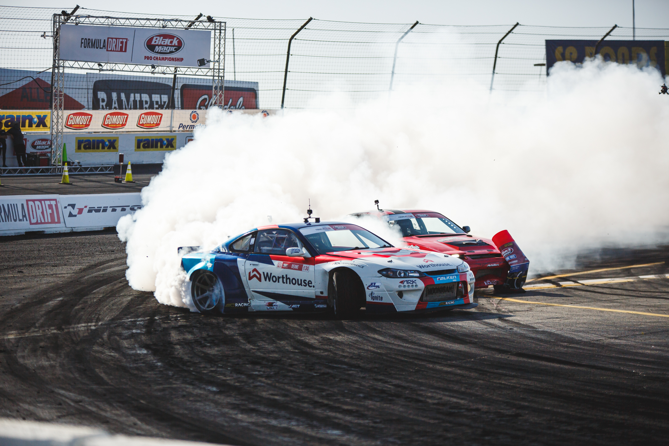 Three-time consecutive Formula Drift champion: James Deane