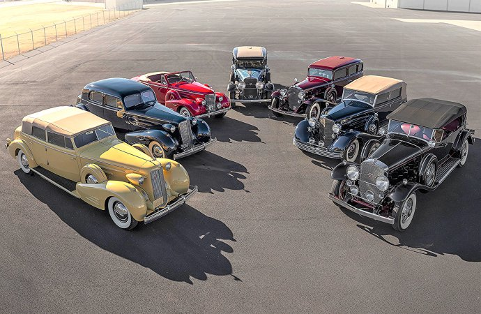 Seven iconic V-16 Cadillacs set for RM's Sotheby's Arizona auction