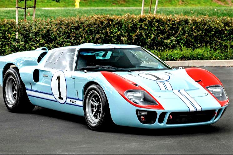 GT40 used in 'Ford v Ferrari' film set for Mecum auction in Florida