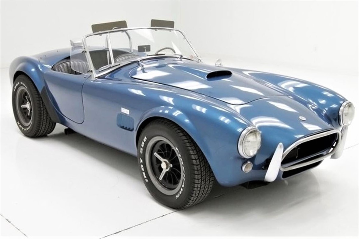 An authentic 1964 Shelby 289 Cobra