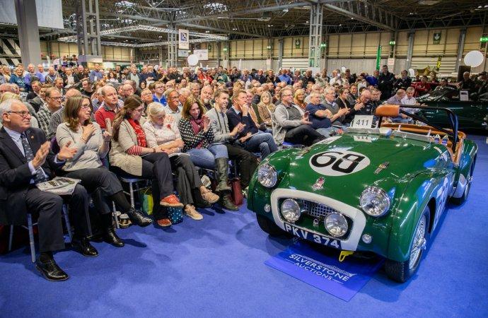 1955 Triumph TR2 Le Mans sets record at Silverstone Auctions