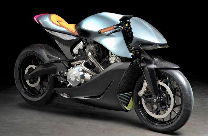 Aston Martin, Brough Superior unveil collaborative superbike at Milan show