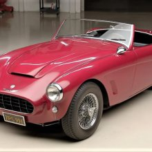 Family heirloom '59 Austin Healey 100-6 visits Jay Leno's garage